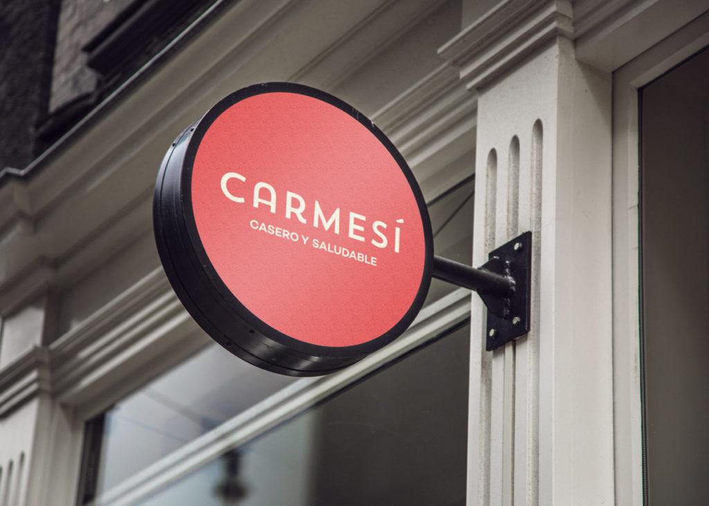 Cartel LED para Carmesí