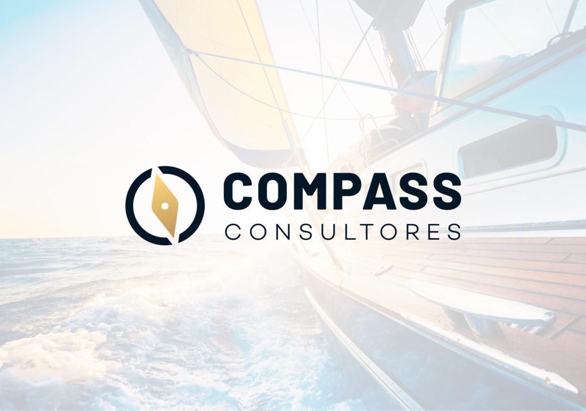 Compass Consultores — diseño de logo